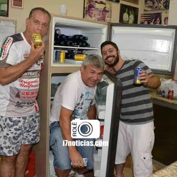 RETROSPECTIVA - 29/01/2016 - Integrantes da Las Golondrinas se reúnem