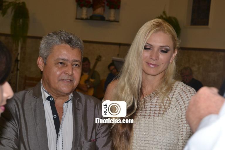 RETROSPECTIVA - 05/06/2016 - Gilseu e Sandra celebram Bodas de Prata