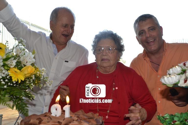 RETROSPECTIVA - 19/07/2016. - Dona Irma Wirgues celebra seus 91 anos