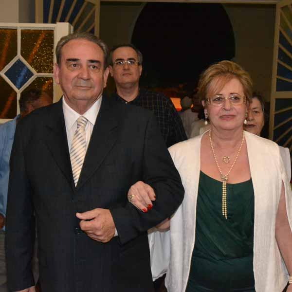 RETROSPECTIVA - 11/07/2016 - Suely e Luiz Carlos celebram Bodas de Ouro