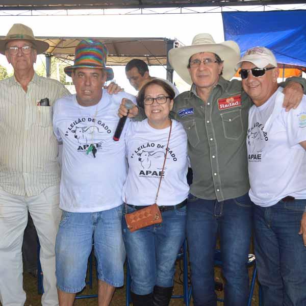 RETROSPECTIVA - 29/08/2016 - 1º Almoço Sertanejo e Leilão de Gado é realizado em prol à Apae