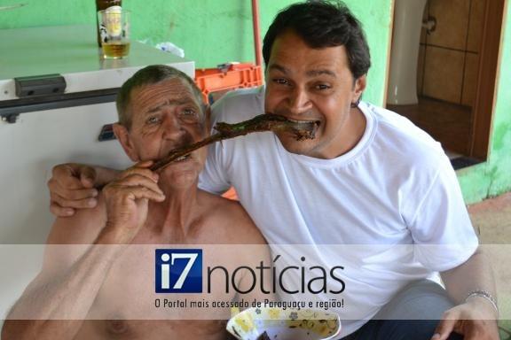 RETROSPECTIVA - 24/02/2013 - Família Guerino se reúne para churrasco