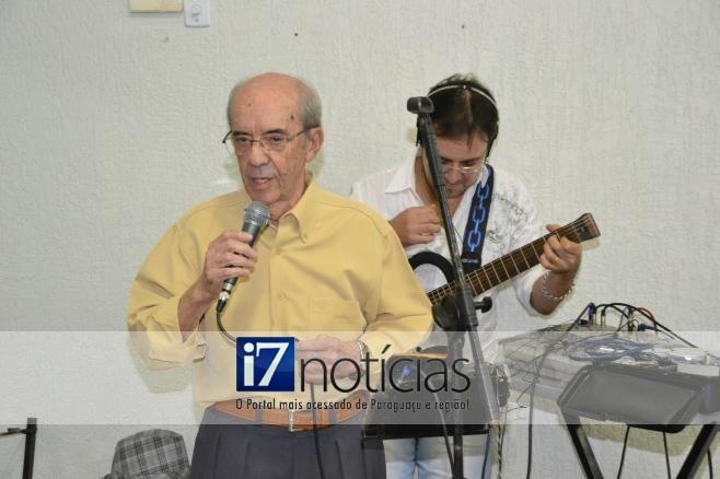 RETROSPECTIVA - 27/04/2013 - Aniversáario dos 80 anos de Nilo Louzano