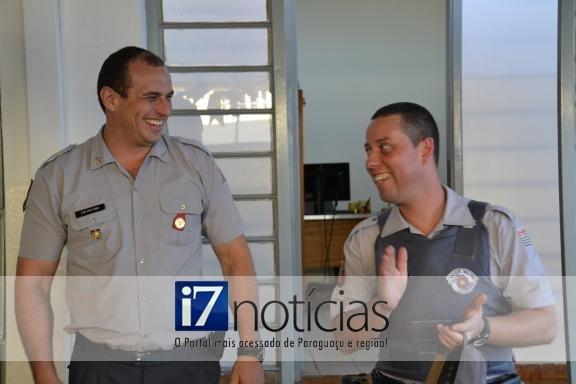 RETROSPECTIVA - 19/07/2013 - Capitão Fábio e Sold Gomes comemoram aniversário