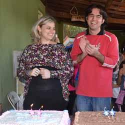 RETROSPECTIVA - 30/06/2014 - Tiago e Suelen festejam mais um ano de vida