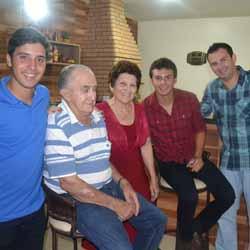 RETROSPECTIVA - 27/12/2014 - Famílias Gomes e Castro se reúnem para ceia