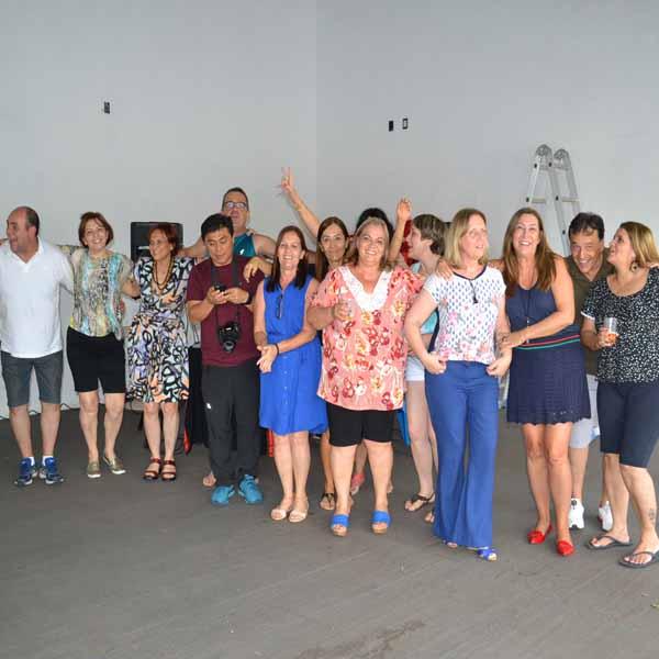 RETROSPECTIVA - 13/11/2016 - Ex-alunos do Cene se reencontram após mais de 38 anos
