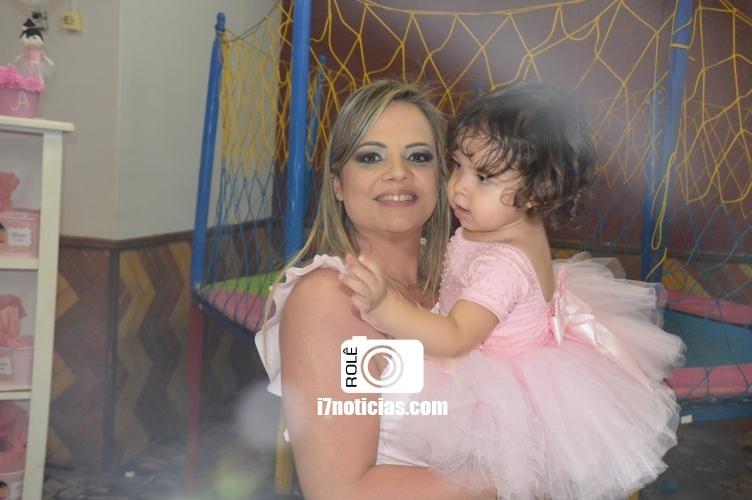 RETROSPECTIVA - 19/12/2016 - Alícia Nóbrega comemora seu 2º aninho com festa da Bailarina