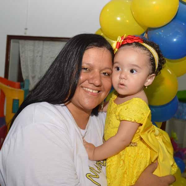 RETROSPECTIVA 16/12/2016 - Maria Julia comemora o seu 1º aninho no Empório da Alegria