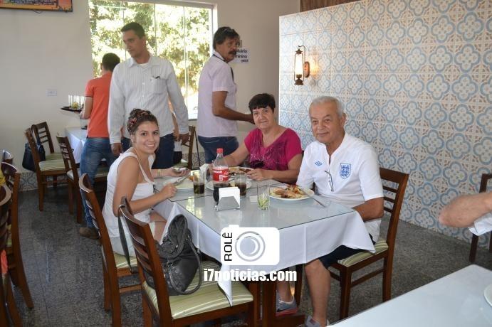 RETROSPECTIVA - 11/08/2016 - Almoço Dia dos Pais no Restaurante Brumado