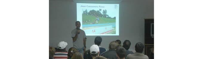 Atleta paraguaçuense é tema de palestra