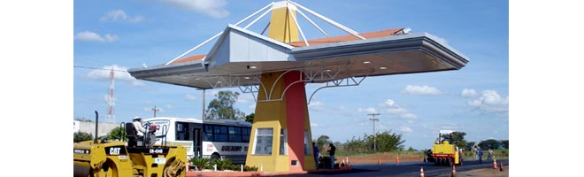 """Portal da """"Siqueira Campos"""" entra em sua fase final de instalação"""