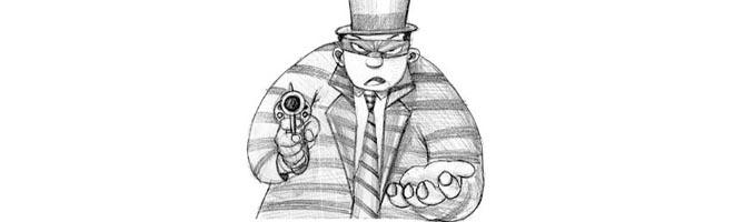Ladrão tenta assaltar comerciante no Jardim América.