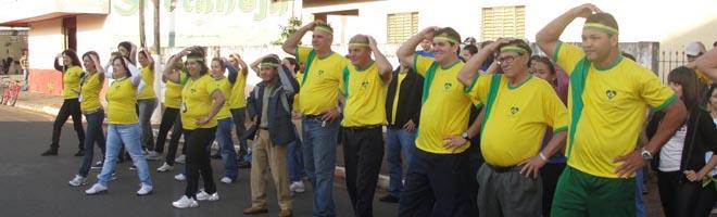 Câmara Municipal participa do Dia do Desafio 2010
