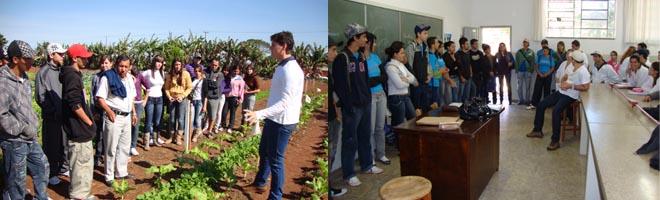 Escolas do município visitam campus da FUNGE