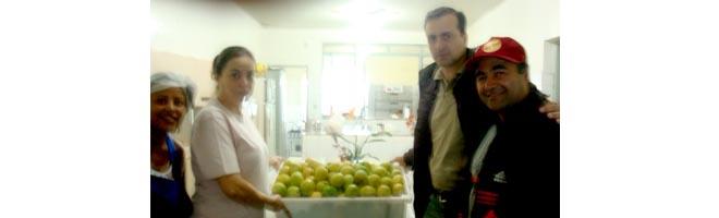 Fiscais municipais fazem apreensão que vira doação às entidades sociais