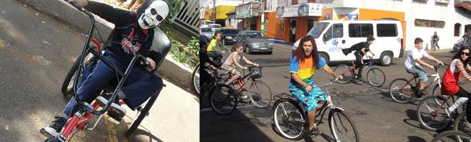 Passeio ciclístico abre o IX Festival de Teatro de Paraguaçu