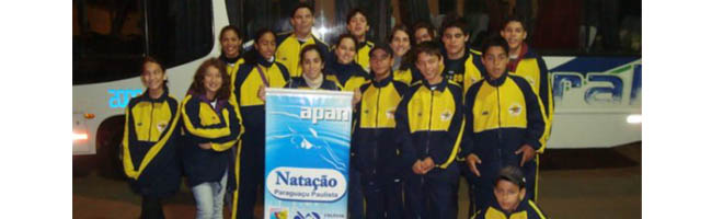 Equipe de natação coleciona conquistas e mostra seus talentos em mais uma competição