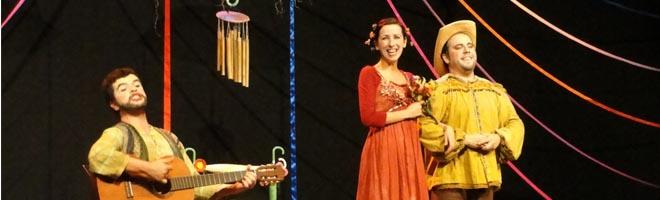Alunos do SESI e de projetos assistenciais assistiram peça teatral Ciranda de Flores