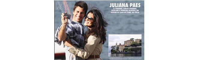 Juliana Paes é capa de revista espanhola