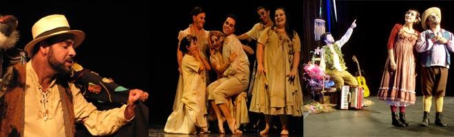 Três espetáculos vencem o IX Festival de Teatro