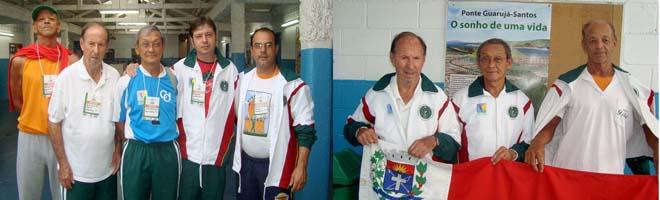 CCI  de Paraguaçu Paulista fez bonito nos 14º Jogos Regionais do Idoso em Guarujá