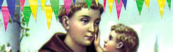 Hoje, grande quermesse de Santo Antonio