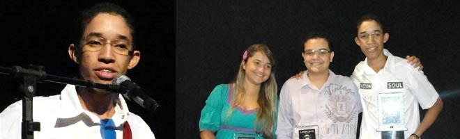 Emanuel Atanásio é o vencedor do II Jovem Canta