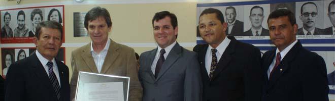 Empresário João Binato recebe homenagem pelos 15 anos de empreendimentos em nossa cidade