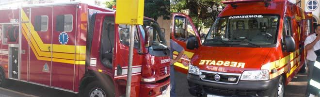 """Bombeiros comemoram o seu dia e lançam campanha """"Bombeiro Sangue Bom"""""""