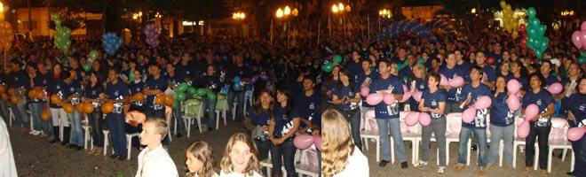 5º Acampamento Sênior de Paraguaçu Pta. é encerrado com missa e grande festa!