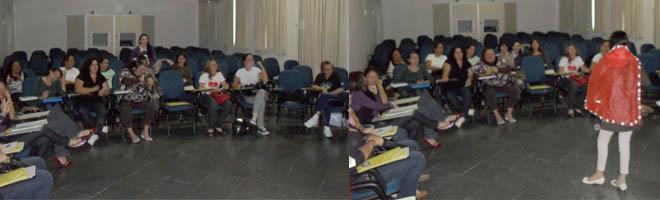 Departamento de Educação realiza HTPC com oficinas para a Educação Infantil