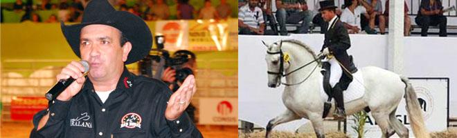 Expo terá bailão no palco Bavária, locutores de primeira e show de cavalos lusitanos