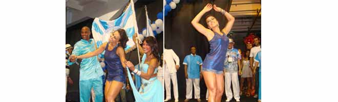 Sabrina Sato é coroada rainha de bateria da Vila Isabel