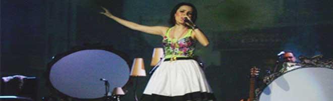Sandy estreia primeiro show da carreira solo em Curitiba!