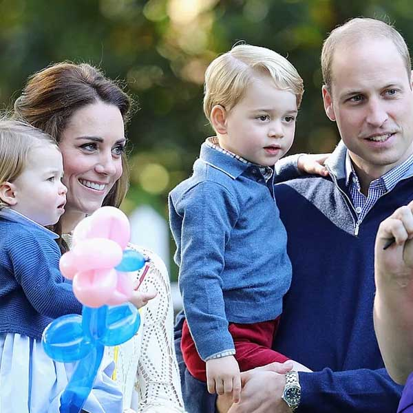 Nasce 3º bebê de Kate Middleton e príncipe William