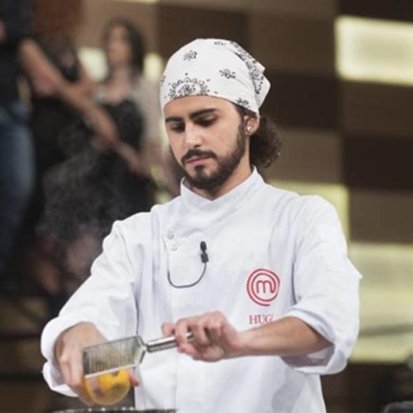 Mariliense Hugo Merchan fica com vice do MasterChef
