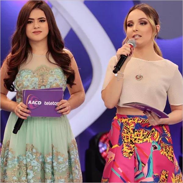 Globo parte pra cima e vai tirar Larissa Manoela e Maisa Silva do SBT