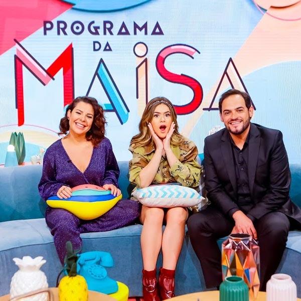 Estreia do Programa da Maisa derruba Globo e Record e coloca o SBT na liderança