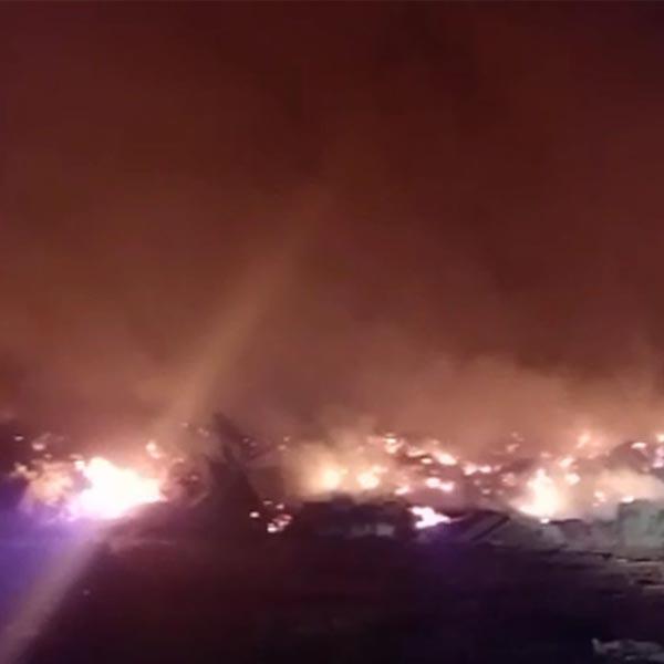 Incêndio destrói depósito de materiais inertes em Assis