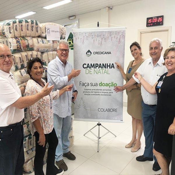 Santa Casa de Assis agradece Credicana por nova doação de arroz