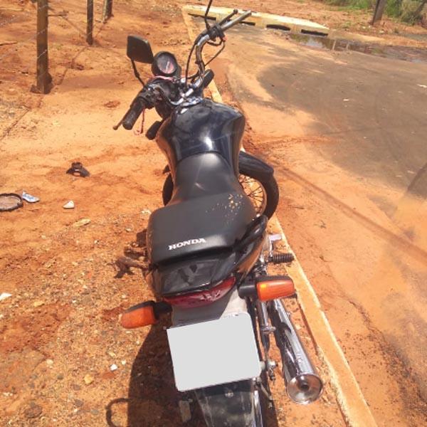 Homem é preso em Paraguaçu poucos minutos após ter furtado moto em Assis