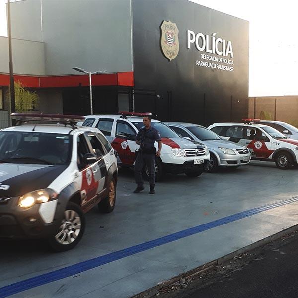 Quadrilha é presa pela PM após roubar residência em Paraguaçu Paulista