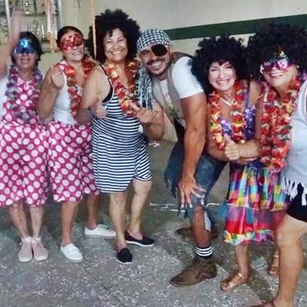 CCI de Paraguaçu festeja o Carnaval das Antigas