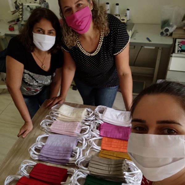Zilor mobiliza ação 'Mãos que Costuram Esperança' para doação de máscaras