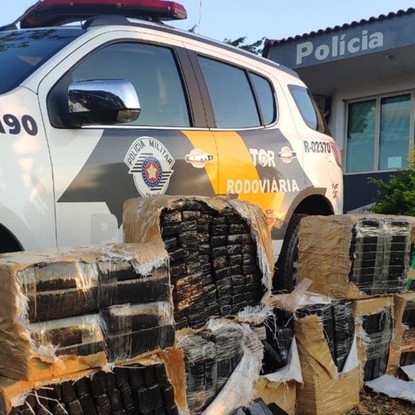 Rapaz é preso com quase 800 tijolos de maconha em Assis