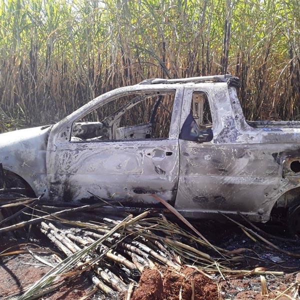 Homem é encontrado com graves ferimentos na cabeça em Maracaí e tem carro queimado