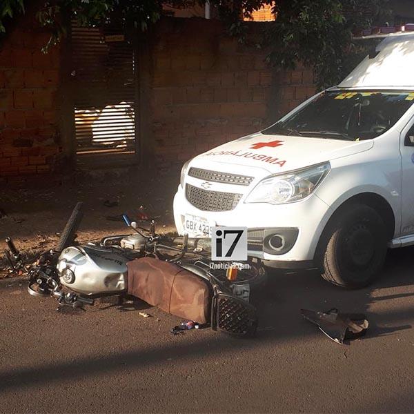 Adolescente de 15 anos morre após perder controle de moto em Paraguaçu