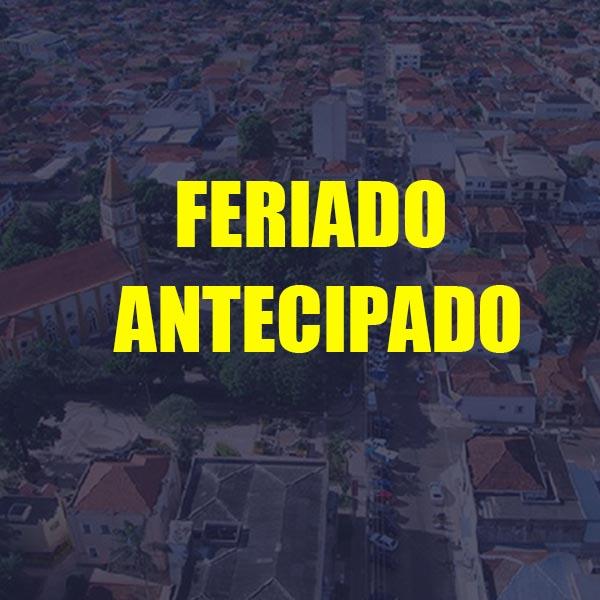 Feriado de '9 de julho' é antecipado para segunda-feira em Paraguaçu