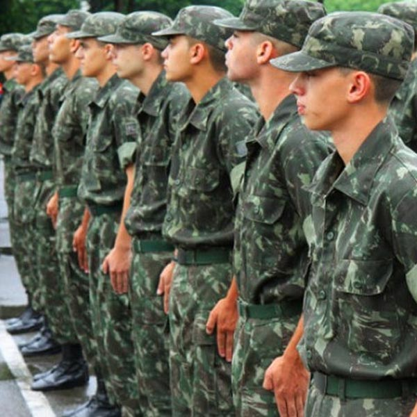 Alistamento militar obrigatório segue apenas pela internet, devido à pandemia da Covid-19